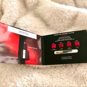 YSL Rouge Reds Lipstick Matte 4 Shade Sample
